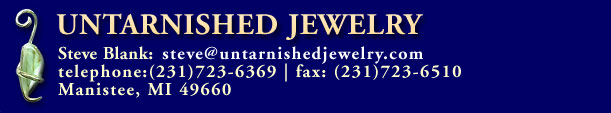 header graphic for Untarnished Jewelry Steven Blank of Michigan